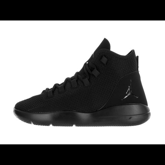 9fb0aedf02ec Nike Jordan Mens Jordan Reveal Black Black